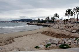 Cerradas tres playas de Palma