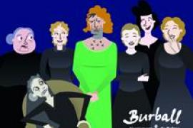 'Monòlegs de la dona', de Tau Teatre, en el ciclo Burball