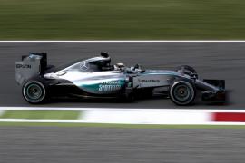 Hamilton vuelve a ser el más rápido en el último entrenamiento de Monza