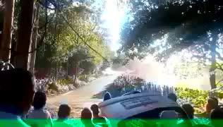Seis muertos en un atropello múltiple en el Rally de Coruña
