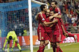 La selección venció y convenció en Oviedo