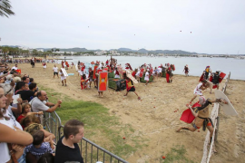Batalla de tomates entre cartagineses y romanos