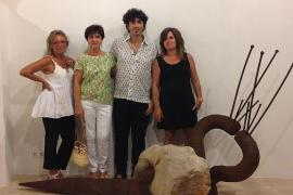 Exposición de Pedro Flores en la galería Dionís Bennàssar