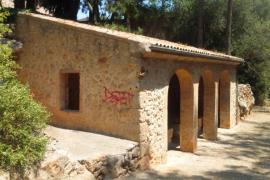 Algaida destina 2.500 euros a eliminar los grafitis en sa Font de Pina