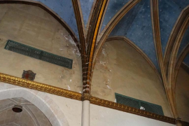Las inundaciones en Santa Elisabet ponen en peligro las obras de arte y los muros