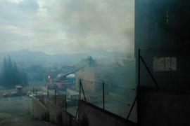 Incendio en Muro