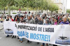 La oposición de Binissalem, ahora en mayoría, quiere recuperar la gestión municipal del agua