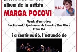 Marga Pocoví y Los Javaloyas, en el Teatre de Lloseta
