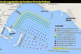 La Comissió de Medi Ambient considera excesivo el campo de boyas de la bahía de Pollença