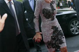 Vargas Llosa e Isabel Preysler acuden a la fiesta de Porcelanosa en Nueva York