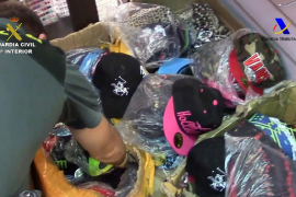 Imputadas 57 personas por la distribución de productos falsificados