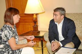 Armengol y Moreno pactan un ambicioso plan para «reactivar la economía» de Inca
