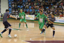 El Palma Futsal muestra su potencial en Navarra