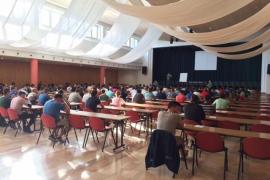 452 aspirantes se presentan en Palma a las oposiciones para ingresar en la Guardia Civil