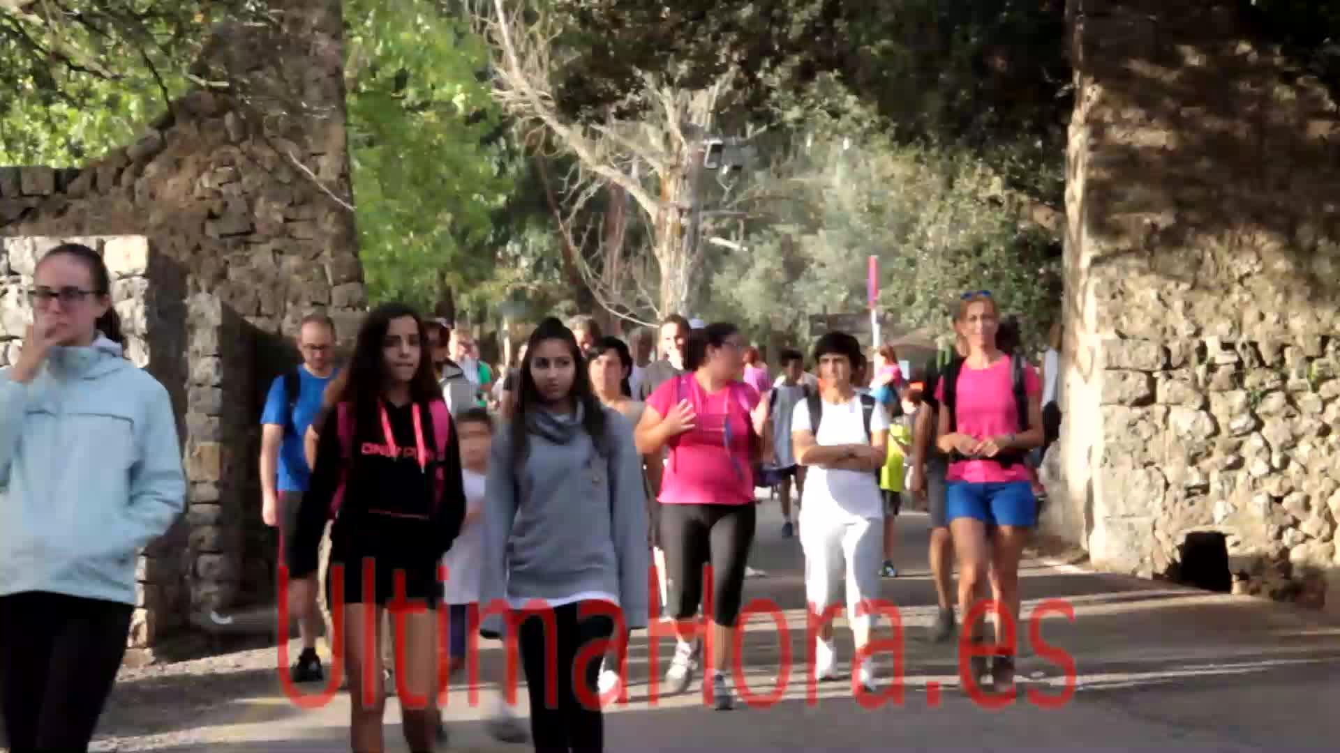10.000 peregrinos participan en la Pujada de la Part Forana a Lluc