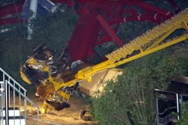 Un fallo en el cálculo de los anclajes pudo causar la caída de 'El Péndulo' en el Tibidabo