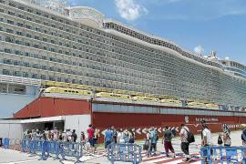 Los cruceros turísticos aumentan casi un 30 por ciento en septiembre