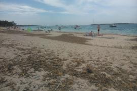 Exceso de lanchas en las playas