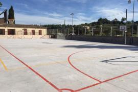 Concluyen las obras del patio del CEIP Antònia Alzina de Lloret