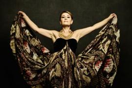 La soprano María Bayo en el Auditori de Manacor
