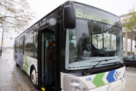 Los usuarios de autobús en Palma crecen un 2,7% y los de metro un 0,2%