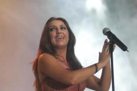 Niña Pastori presenta 'Ámame como soy' en el Auditòrium de Palma