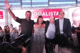 Armengol pide a los catalanes trabajar «por una España diferente donde todos nos podamos sentir cómodos»