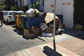 El PI de Sant Llorenç denuncia el deficiente servicio de recogida selectiva en el municipio