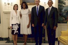 Obama defiende ante Felipe VI  «una España fuerte y unida»