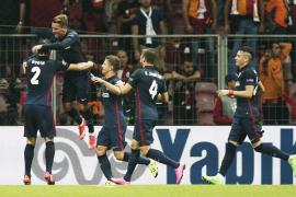 El Atlético y Griezmann resuelven en 25 minutos
