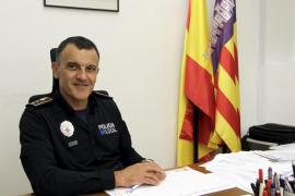 El comisario Joan Miquel Mut, destituído como jefe de la Policía Local de Palma