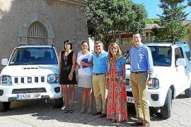 El Ajuntament d'Andratx adquirió dos Suzuki Jimny de Tecnicars