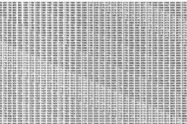 Uriarte expone para la Nit de l'Art 'Valores numéricos' en L21