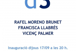 Rafel Moreno, Francisca Llabrés y Vicenç Palmer exponen en Art Mallorca