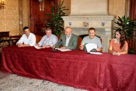 Sóller, Binissalem y Capdepera firman un convenio para establecer la ventana única