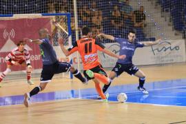 El Palma Futsal supera por 3-1 al Burela