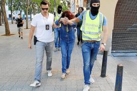La cocaína intervenida en la 'operación Constante' llegaba desde Colombia a Palma