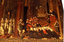 Valriu y Vibot siguen la pista a Sant Vicenç Ferrer, un «héroe» del siglo XV