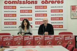 José Luis García Vidal, propuesto como secretario general de CCOO Baleares