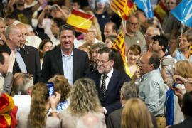 Rajoy apela al votante de CiU: «Vengan con nosotros que se van a entender mejor»