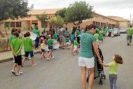 Los padres del colegio Joan Veny i Clar de Campos reclaman un nuevo centro
