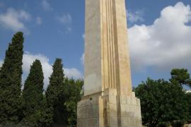 Cort retirará el monumento de sa Feixina