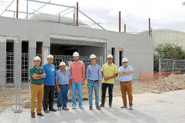 La piscina y el nuevo gimnasio de Santanyí estarán listos a principios de 2016
