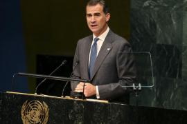 El Rey pide ante la ONU eliminar los «excesos» del modelo de crecimiento