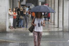 Lluvias fuertes y tormentas en el área mediterránea