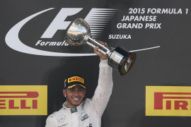 Hamilton iguala a Ayrton Senna al ganar en Suzuka