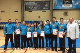 La selección balear de taekwondo termina el Campeonato de España Junior con 6 medallas