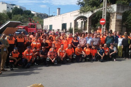 Unas 300 personas participan en la Diada de Voluntarios de Protección Civil