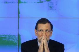 Rajoy y la cúpula del PP están «tranquilos» a la espera del resultado final