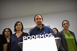 Iglesias admite que el resultado electoral ha sido altamente decepcionante